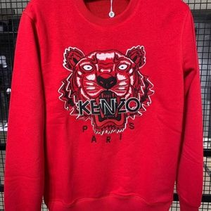 KENZO CASUAL SWEATER MEN NWT %100 COTTON
